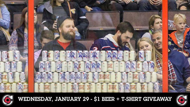Cincinnati Cyclones | $1 Beer