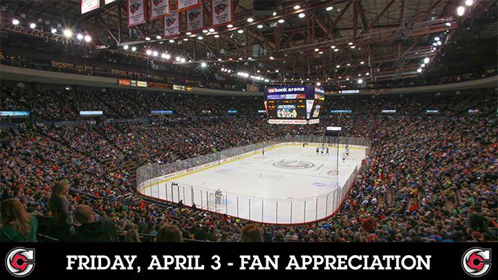 Cincinnati Cyclones   Fan Appreciation Weekend
